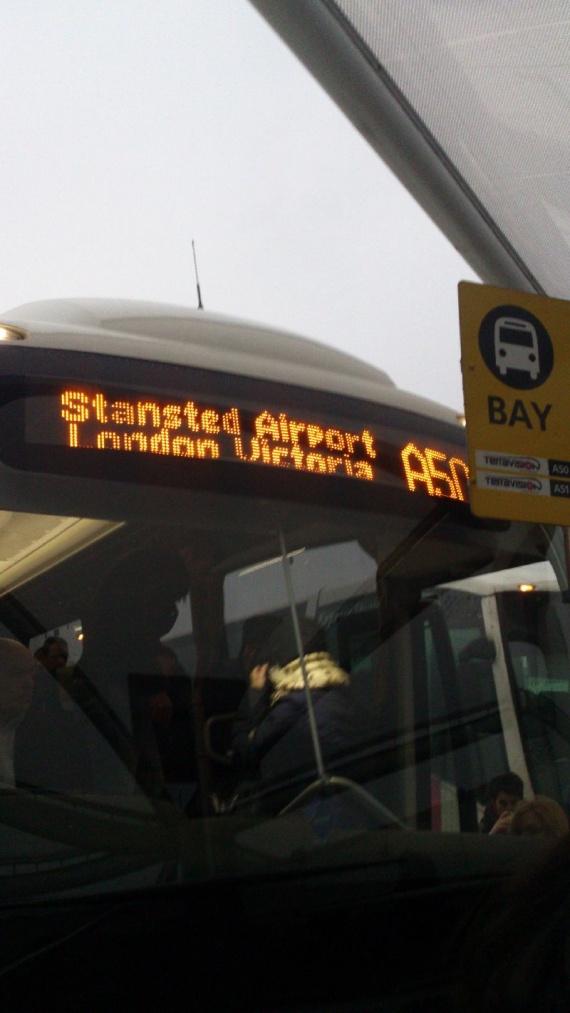 автобус до лондона