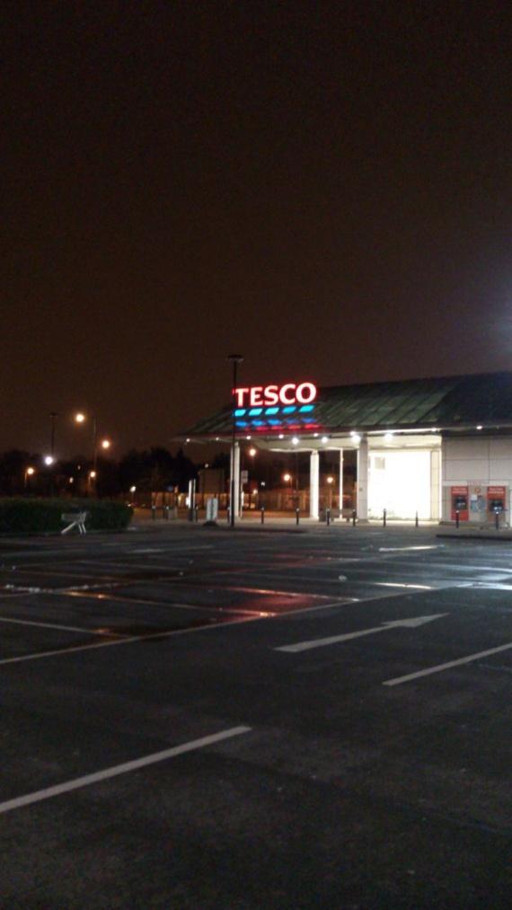 супермаркет Tesco в Лондоне