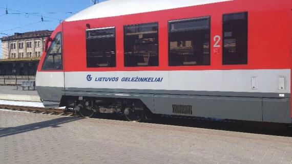 поезд в аэропорт Вильнюса