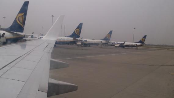 аэропорт Сэнстед в Лондоне
