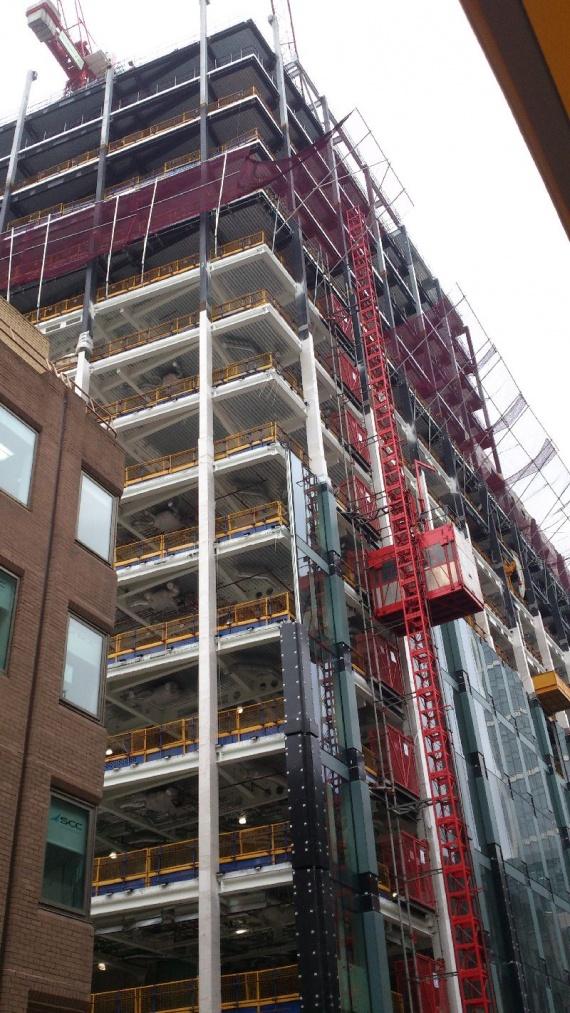 Стройка в Лондоне