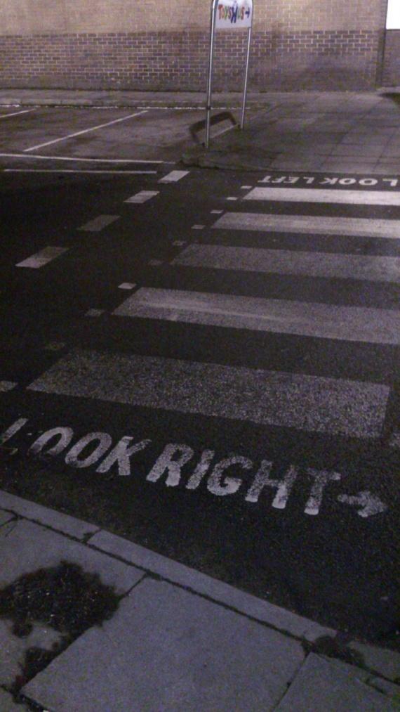 Пешеходные переходы в Лондоне