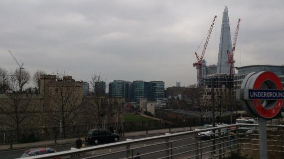 Район Тауэра в Лондоне