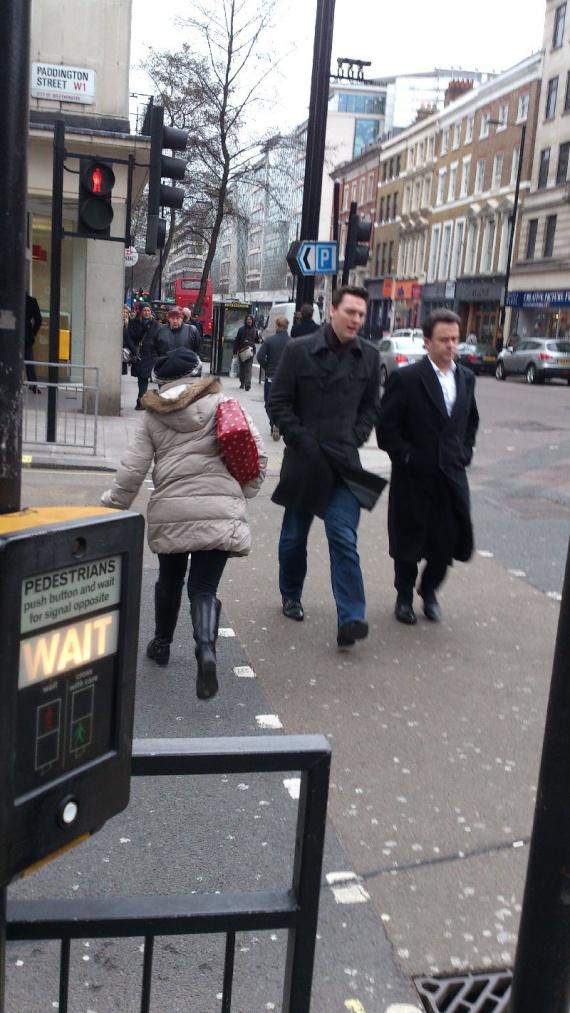 Уличное движение в Лондоне