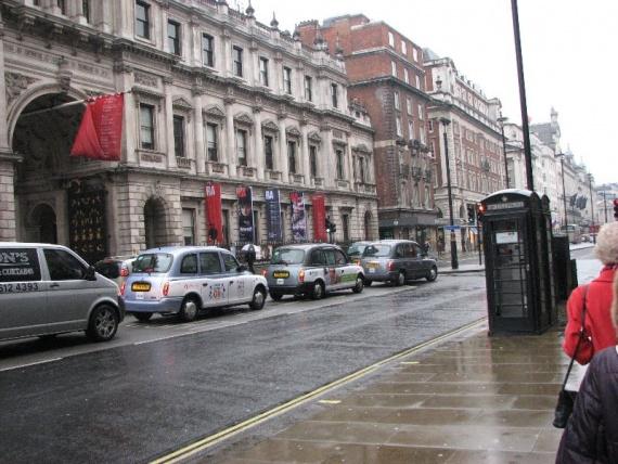 Такси кэбы в Лондоне
