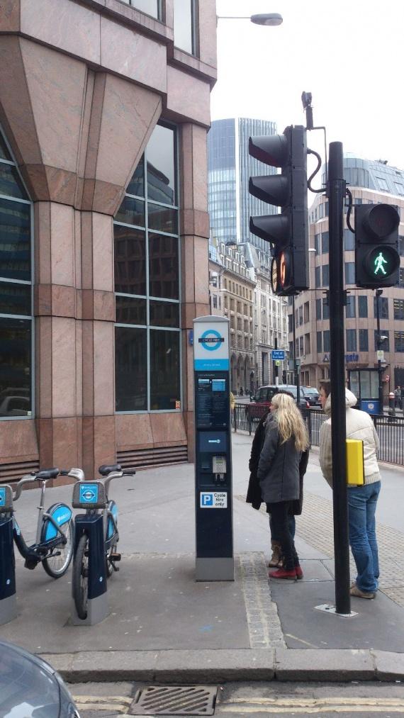 Прокат велосипедов в Лондоне