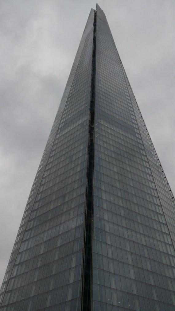 Самое высокое здание в Евросоюзе - Шард в Лондоне