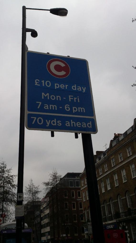 Стоимость парковки в Лондоне
