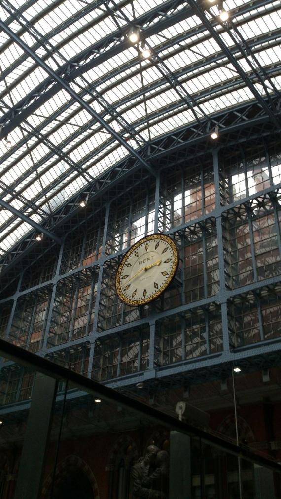 Вокзал Кингс-Кросс Сент-Панкрасс в Лондоне