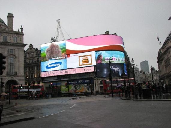 Цирк Пикадили в Лондоне