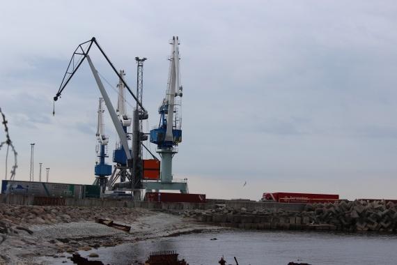 Один из палдиских портов