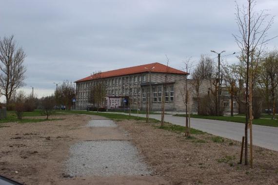 Палдиская начальная школы. Сейчас эстонская гимназия.