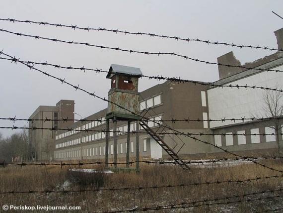 Центр подготовки подводников в Палдиски. 2008 год.