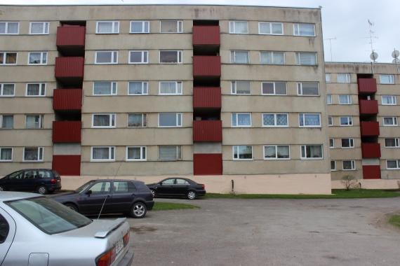 Советская панелька. В моем случае - мое первое место жительства.
