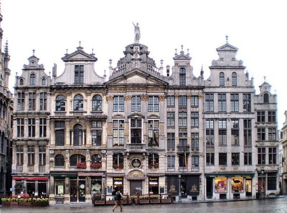 """Площадь """"Grand Place"""" , Брюссель, Бельгия"""