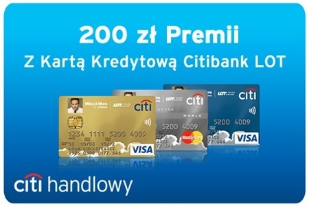 Карта Citibank LOT