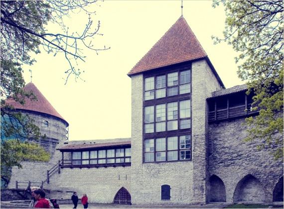 Девичья башня, Таллин