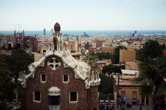 Барселона, Park Guell.