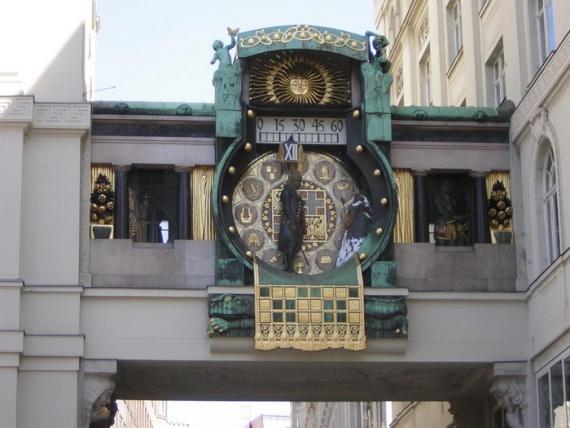 Часы Анкерур (Ankeruhr)