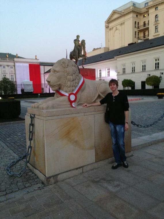 Варшавские представители семейства кошачьих :)